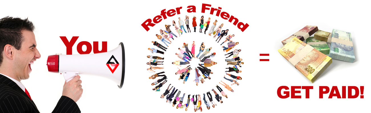 Earn extra cash! Refer a Friend